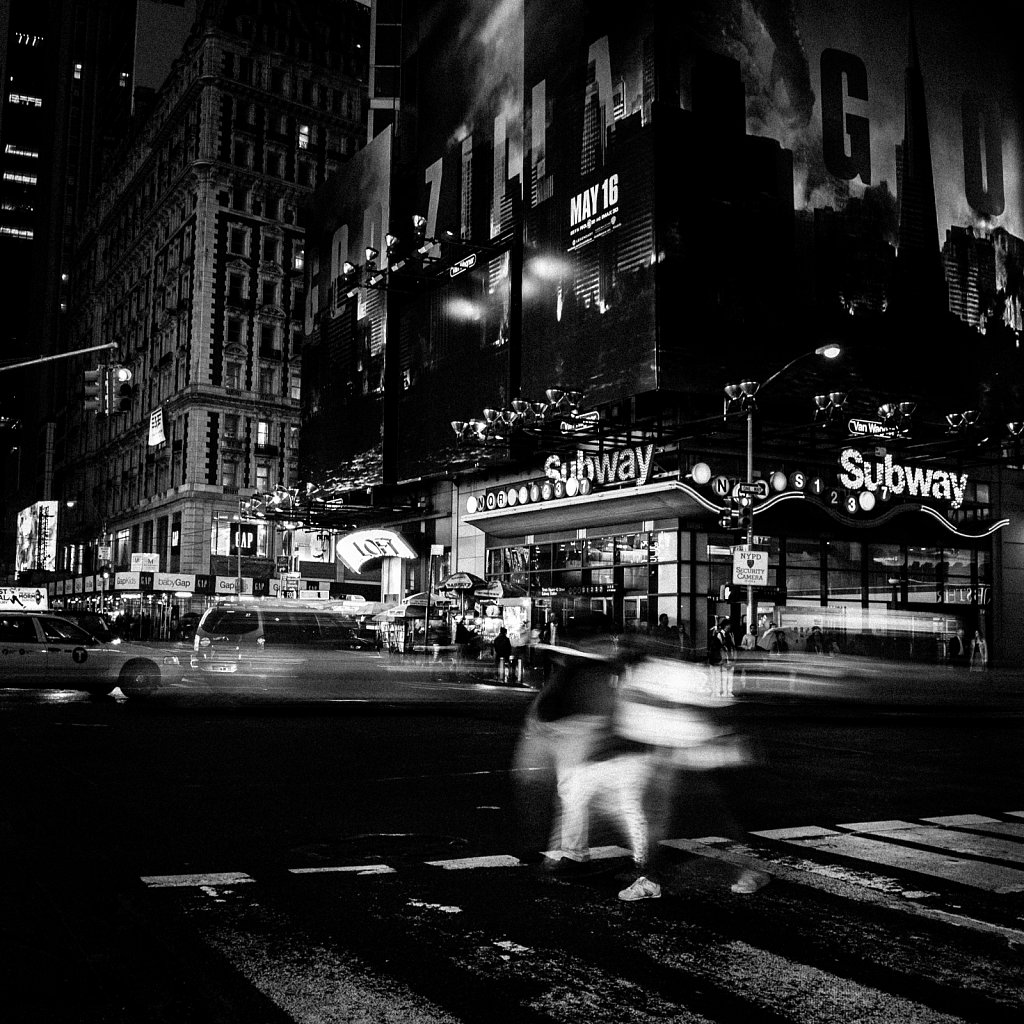 New York City street 1